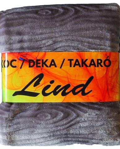 Deka Lind 170X220 šedý