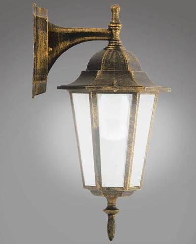 Nastenná záhradná lampa Liguria 1047I/DNP patina KD1