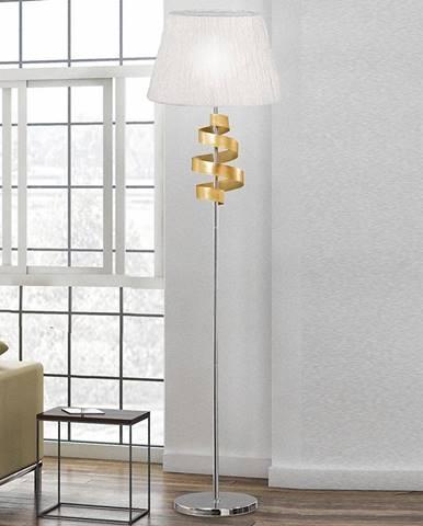 Lampa Denis 1x60w E27 Chróm/Zlatá