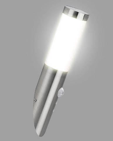 Nastenná záhradná lampa INOX 8263 LP451
