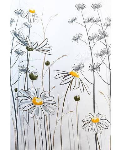 Textilný záves 180/200 W08441 Flower daisy