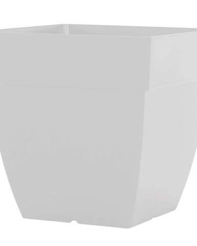Kvetináč CAPRI SQUARE 35 cm white