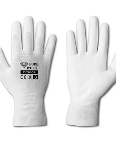 Ochranné rukavice dámske white