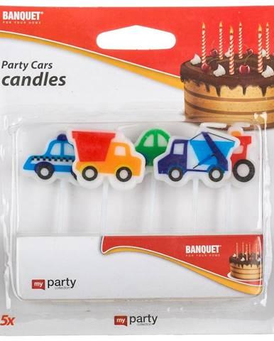 Narodeninové sviečky 5 ks