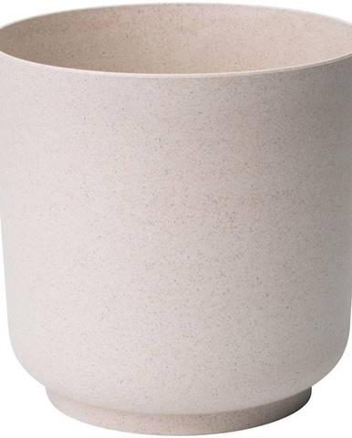 Kvetináč Satina Eco 17 cm biela