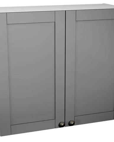 Kuchynská skrinka Linea G80C grey