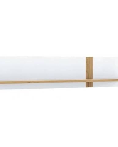 Polička Tuluza TUZB01 biela/artisan