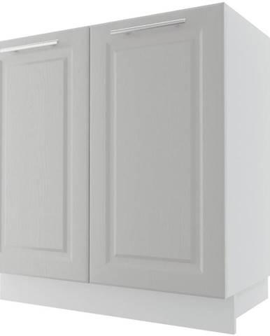 Skrinka do kuchyne Emporium D8Z/80 Light grey stone