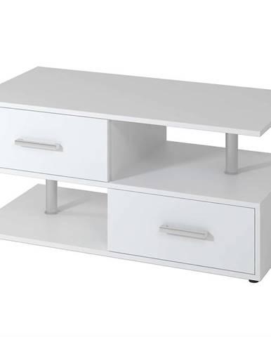 Nočný stolík Wachau biely