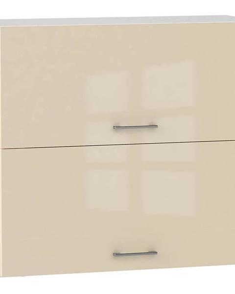 MERKURY MARKET Skrinka do kuchyne Alvico W80 GRF/2 magnólie BB