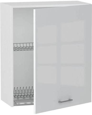 Skrinka do kuchyne Alvico W60 SU P/L luxe blanco BB