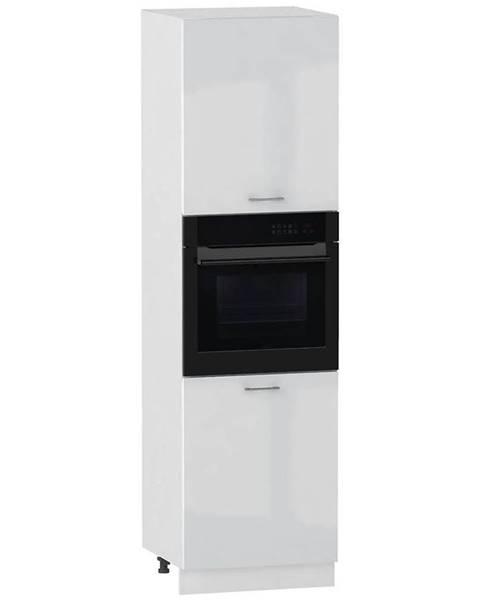 MERKURY MARKET Skrinka do kuchyne Alvico D60PK/2133 P/L luxe blanco BB