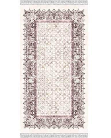Linon koberec 160x230 cm krémovohnedá