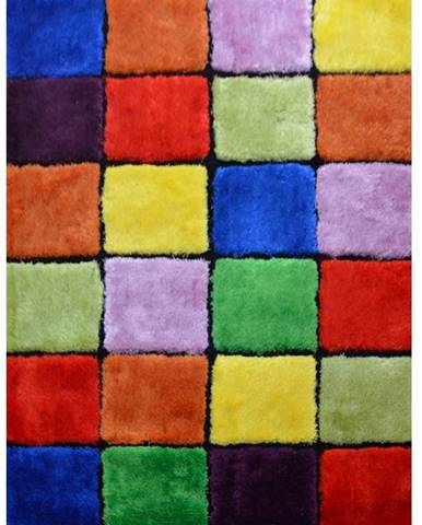Ludvig Typ 4 koberec 120x180 cm červená