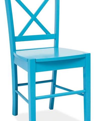 CD-56 jedálenská stolička modrá