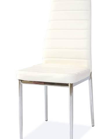 H-261 jedálenská stolička biela