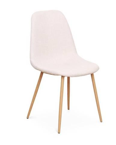 Lega jedálenská stolička krémová