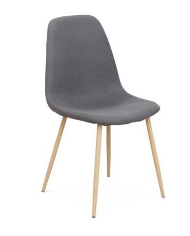 Lega jedálenská stolička tmavosivá