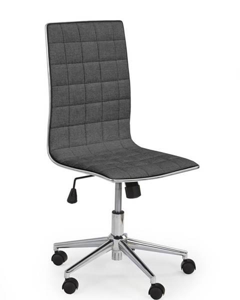 Halmar Tirol 2 kancelárska stolička tmavosivá