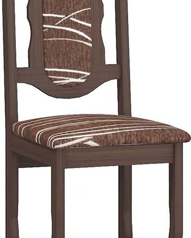 C jedálenská stolička sonoma tmavá