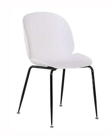 Menta jedálenská stolička biela
