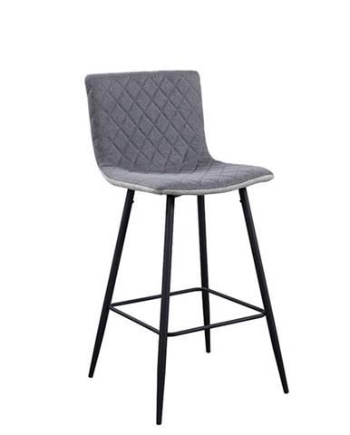 Torana barová stolička svetlosivá