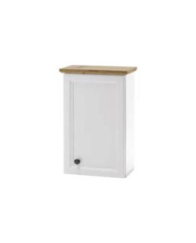 Toskana nástenná skrinka do kúpeľne biela