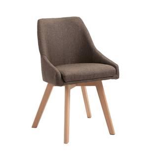 Teza jedálenská stolička hnedá