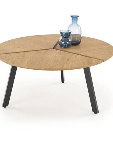 Luana okrúhly konferenčný stolík dub zlatý