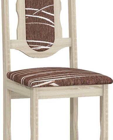 C jedálenská stolička sonoma svetlá