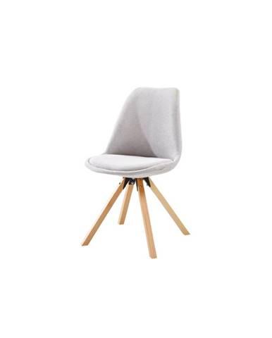 Sabra jedálenská stolička sivá