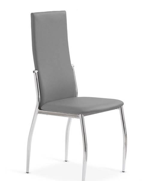 Halmar K3 jedálenská stolička sivá