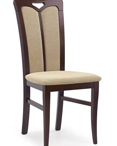Hubert 2 jedálenská stolička tmavý orech