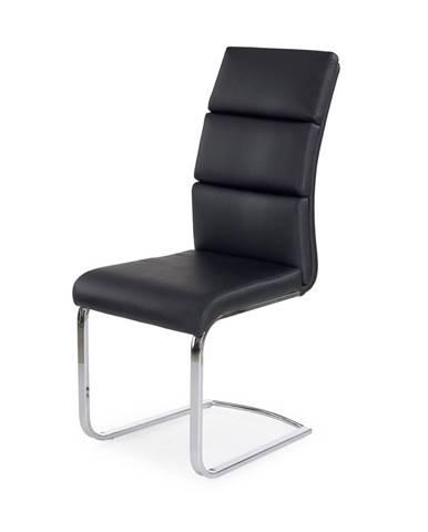 K230 jedálenská stolička čierna
