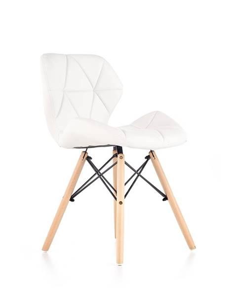 Halmar K281 jedálenská stolička biela