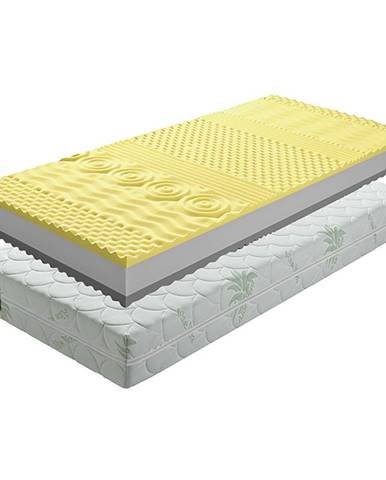 BE Tempo Visco obojstranný penový matrac 140x200 cm PUR pena