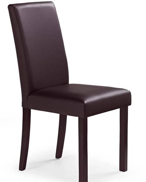 Halmar Nikko jedálenská stolička tmavý orech