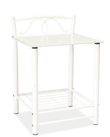 ET-920 nočný stolík biela