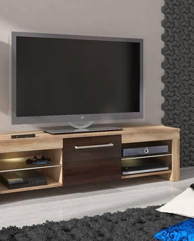 Flex tv stolík sonoma svetlá
