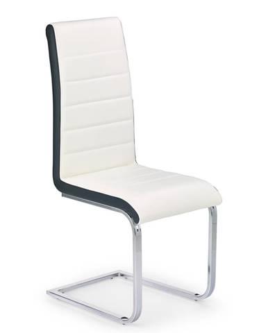 K132 jedálenská stolička biela