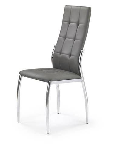 K209 jedálenská stolička sivá