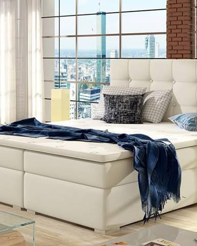 Isola 160 čalúnená manželská posteľ béžová