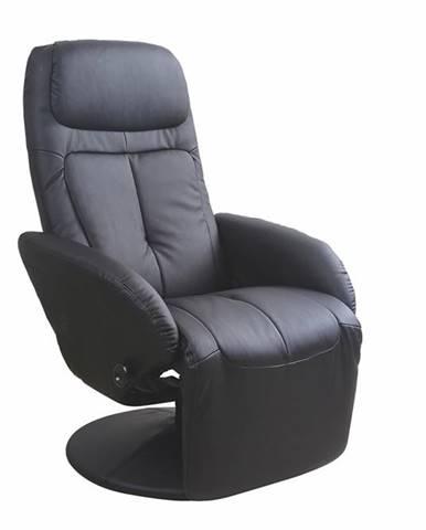 Optima relaxačné kreslo čierna