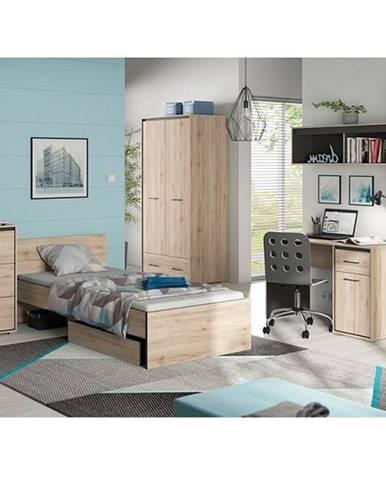 Ronse študenstká izba dub san remo svetlý