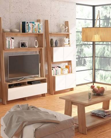 Rack obývacia izba sonoma svetlá