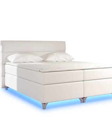 Avellino 180 čalúnená manželská posteľ s úložným priestorom béžová (Soft 33)