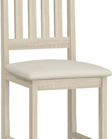 B jedálenská stolička sonoma svetlá