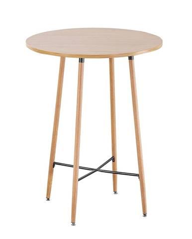 Imam okrúhly barový stôl dub