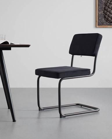 Jedálenská stolička Rossi Čierna