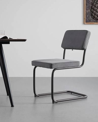 Jedálenská stolička Rossi sivá